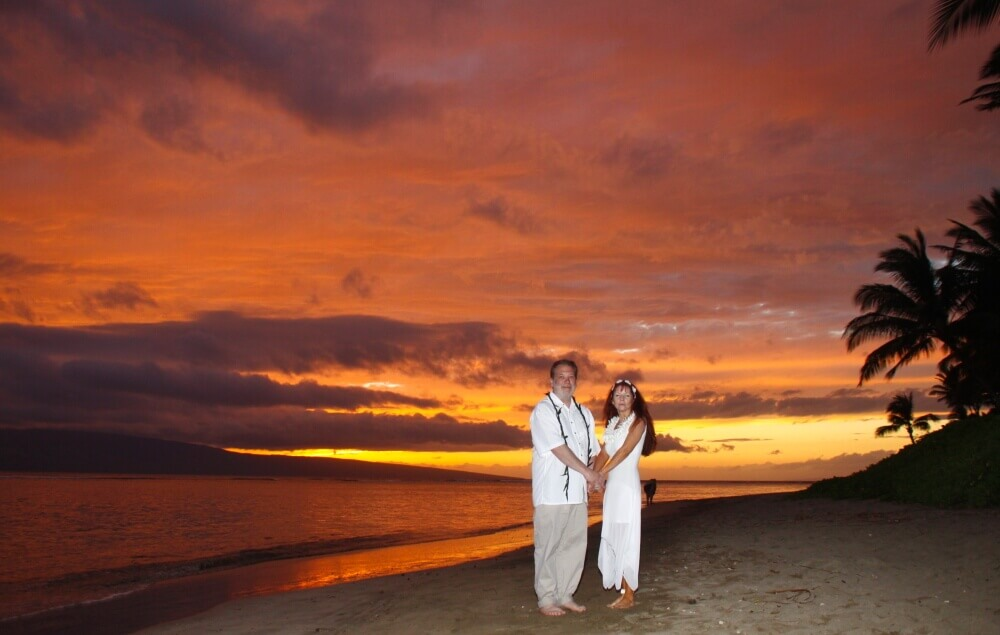Maui Weddings - Sunset Beach Wedding