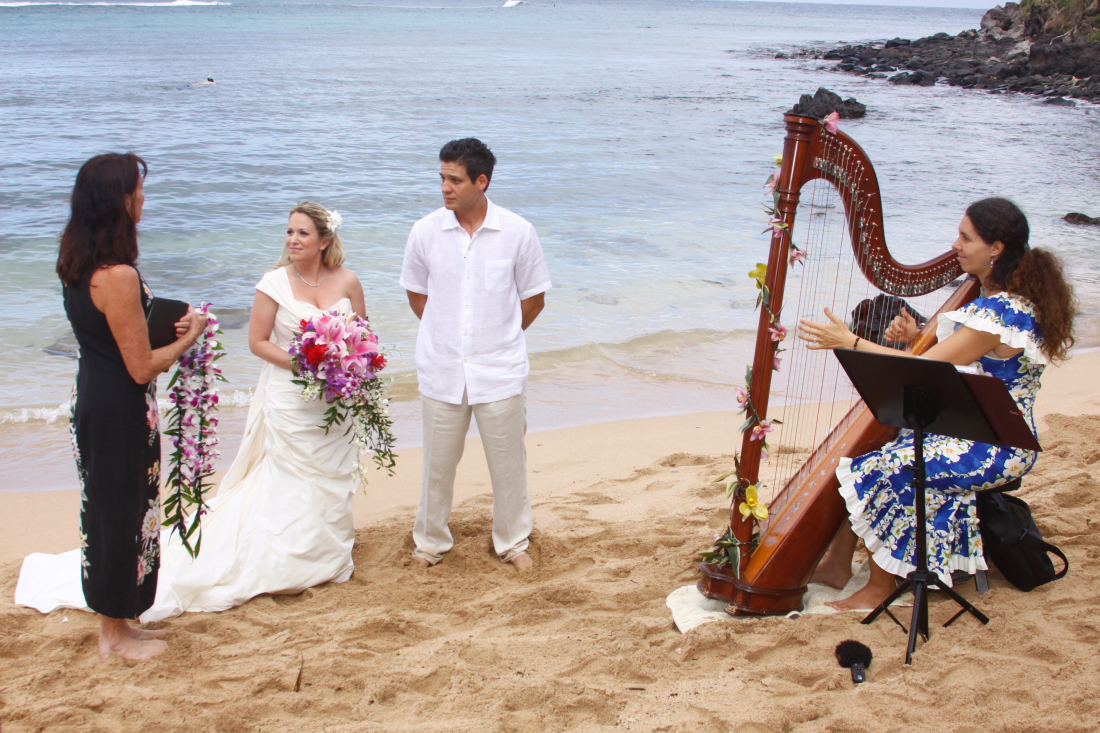Picture showing Maui wedding photographers
