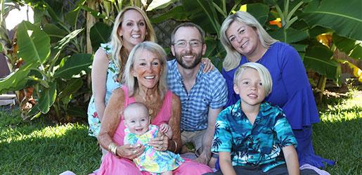 Paula & Family  Kulakane condo  Maui Hawaii